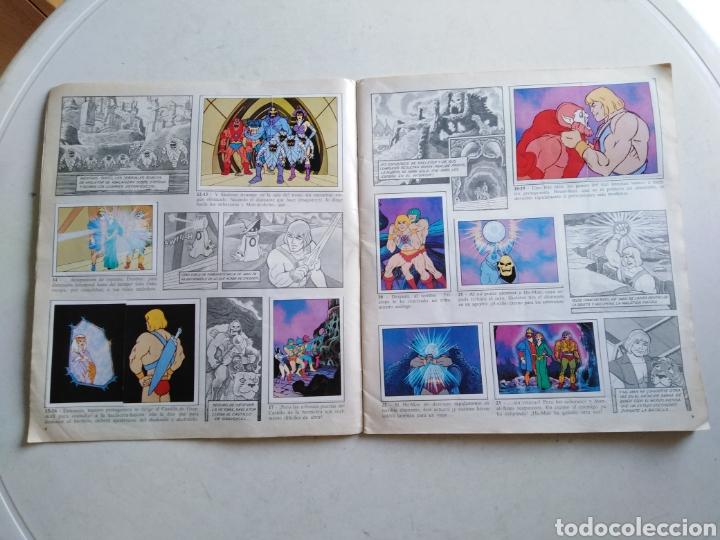 Coleccionismo Álbum: Álbum completo masters of the universe, los amos del universo, 1983 - Foto 4 - 221567810