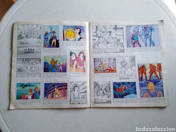 Coleccionismo Álbum: Álbum completo masters of the universe, los amos del universo, 1983 - Foto 7 - 221567810