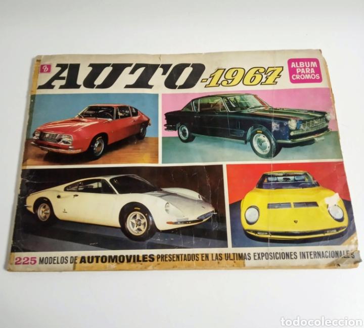 ÁLBUM DE CROMOS COMPLETO AUTO 1967 (Coleccionismo - Cromos y Álbumes - Álbumes Completos)