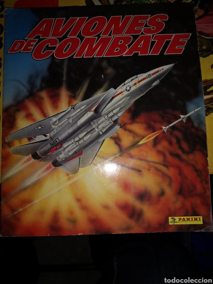 TRST4. E4. ALBUM COMPLETO DE CROMOS. AVIONES DE COMBATE (Coleccionismo - Cromos y Álbumes - Álbumes Completos)
