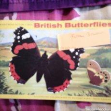 Coleccionismo Álbum: BRITISH BUTTERFLY FALTAN 3 CROMOS. Lote 221661107