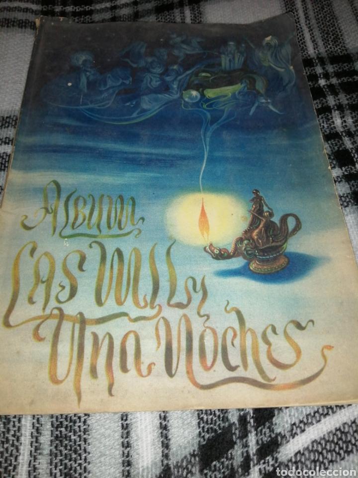 ÁLBUM CROMOS, LAS MIL Y UNA NOCHES (Coleccionismo - Cromos y Álbumes - Álbumes Completos)