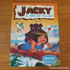 Coleccionismo Álbum: JACKY EL OSO DE TALLAC. ALBUM DE CROMOS COMPLETO DANONE.. Lote 221744737