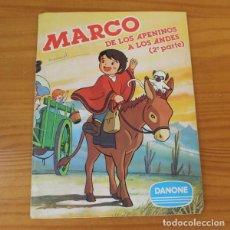 Coleccionismo Álbum: MARCO DE LOS APENINOS A LOS ALPES 2ª PARTE. ALBUM DE CROMOS COMPLETO DANONE.. Lote 221744910