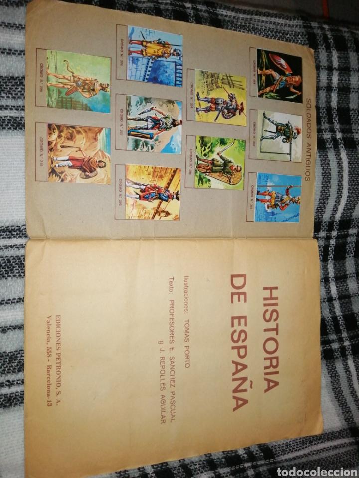 Coleccionismo Álbum: ÁLBUM COMPLETO HISTORIA DE ESPAÑA - Foto 3 - 221748818
