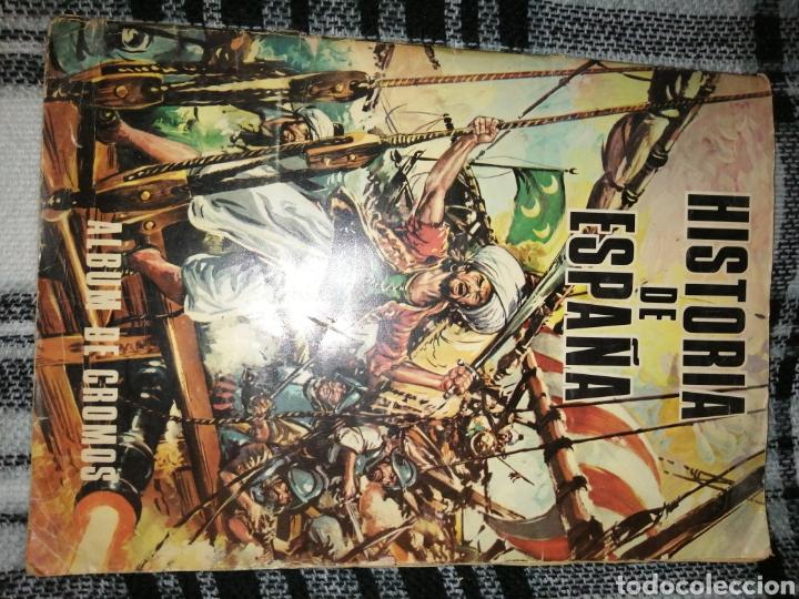 ÁLBUM COMPLETO HISTORIA DE ESPAÑA (Coleccionismo - Cromos y Álbumes - Álbumes Completos)