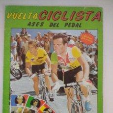 Coleccionismo Álbum: VUELTA CICLISTA/ASES DEL PEDAL/ALBUM DE CROMOS DE CICLISMO A FALTA DE 1.. Lote 221759972