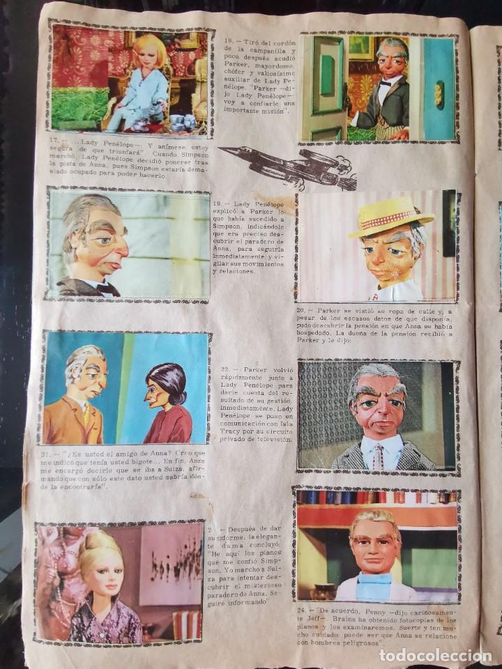 Coleccionismo Álbum: ALBUM CROMOS GUARDIANES DEL ESPACIO DE LA SERIE DE TELEVISION THUNDERBIRDS FHER COMPLETO - Foto 6 - 221799623
