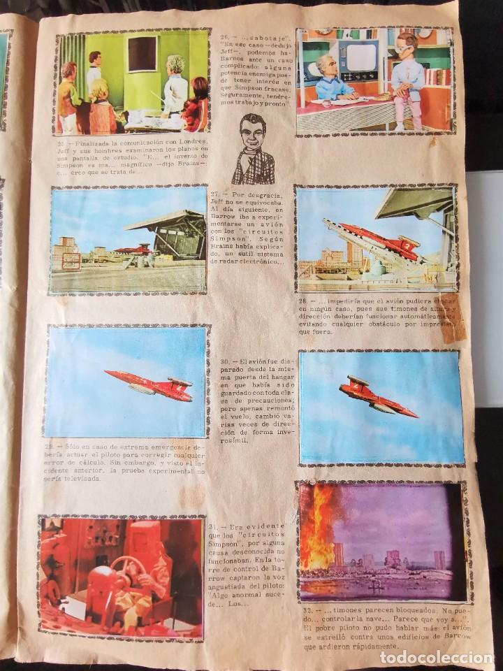 Coleccionismo Álbum: ALBUM CROMOS GUARDIANES DEL ESPACIO DE LA SERIE DE TELEVISION THUNDERBIRDS FHER COMPLETO - Foto 7 - 221799623