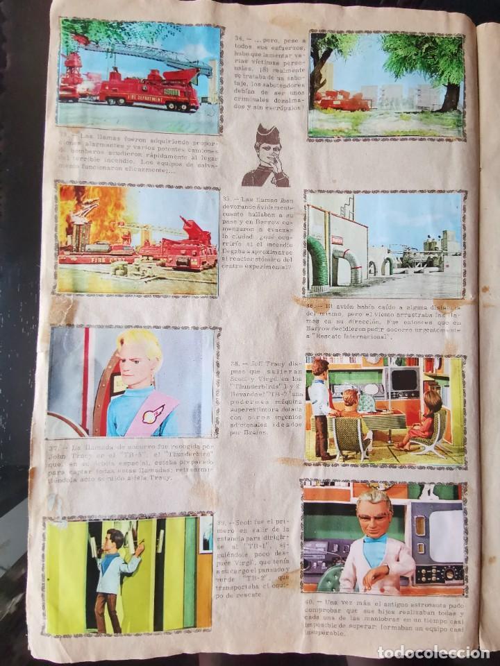 Coleccionismo Álbum: ALBUM CROMOS GUARDIANES DEL ESPACIO DE LA SERIE DE TELEVISION THUNDERBIRDS FHER COMPLETO - Foto 8 - 221799623