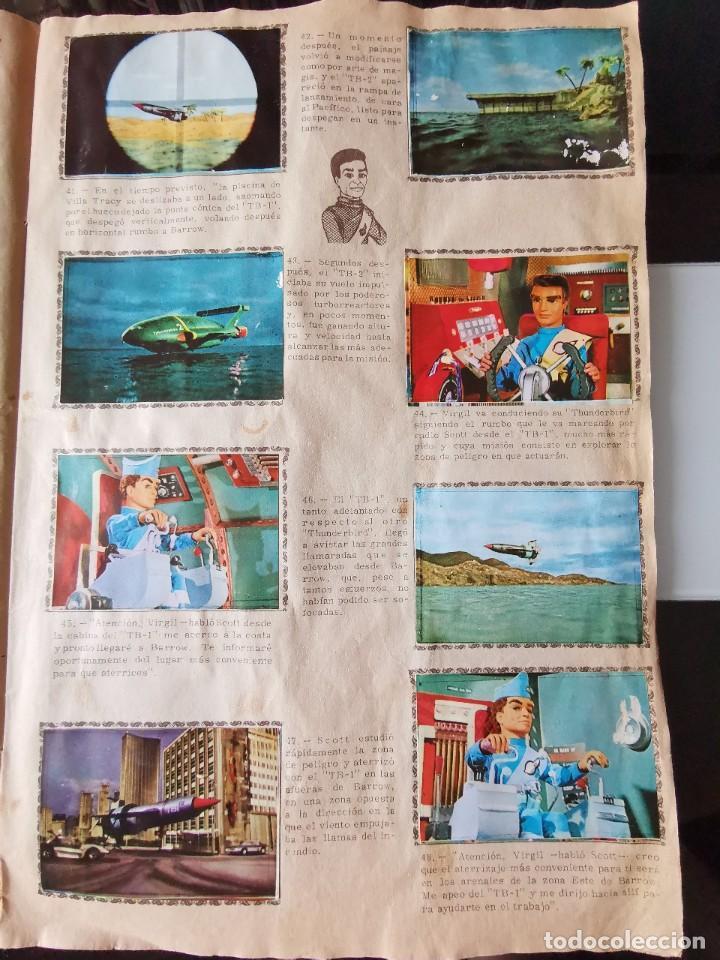 Coleccionismo Álbum: ALBUM CROMOS GUARDIANES DEL ESPACIO DE LA SERIE DE TELEVISION THUNDERBIRDS FHER COMPLETO - Foto 9 - 221799623