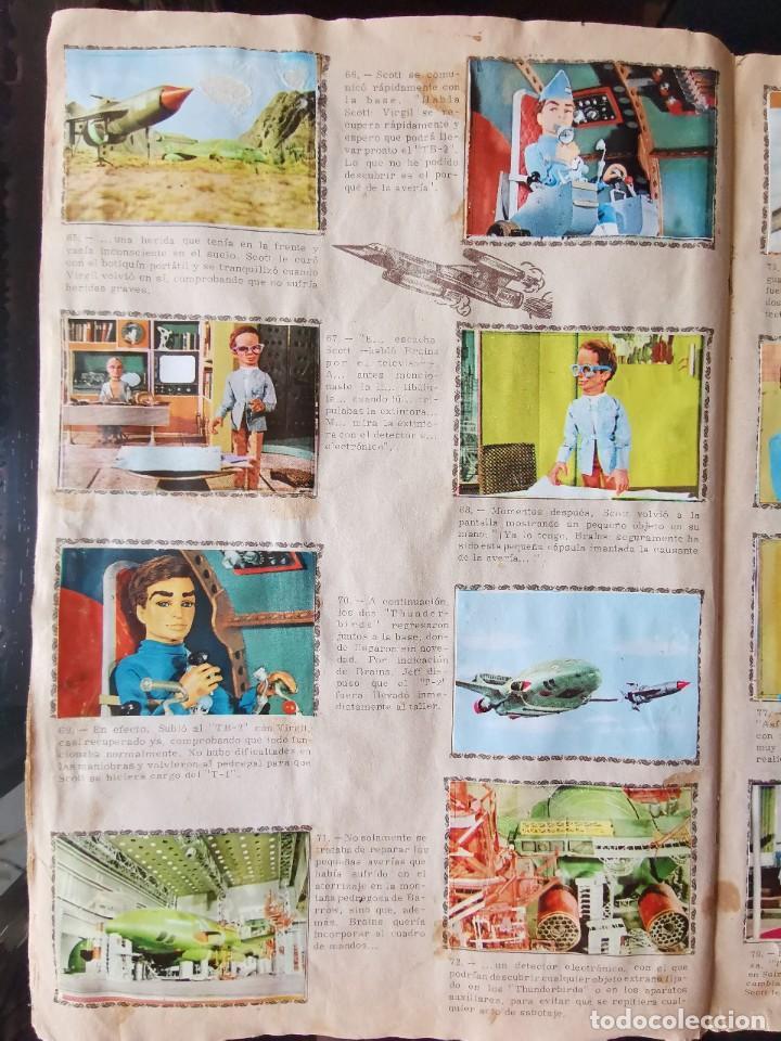 Coleccionismo Álbum: ALBUM CROMOS GUARDIANES DEL ESPACIO DE LA SERIE DE TELEVISION THUNDERBIRDS FHER COMPLETO - Foto 12 - 221799623