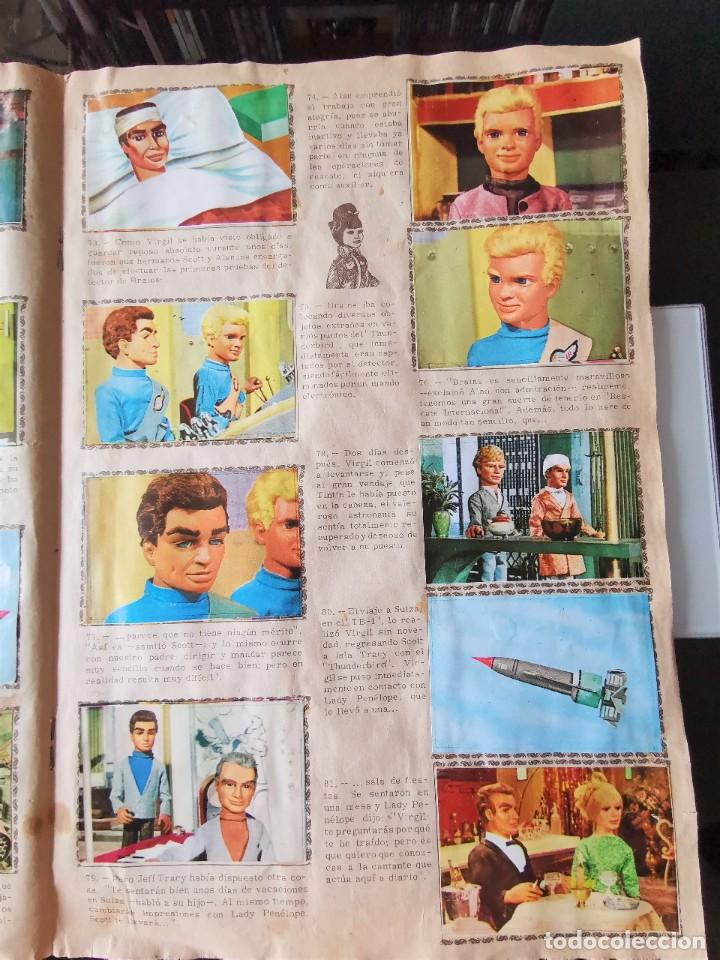 Coleccionismo Álbum: ALBUM CROMOS GUARDIANES DEL ESPACIO DE LA SERIE DE TELEVISION THUNDERBIRDS FHER COMPLETO - Foto 13 - 221799623
