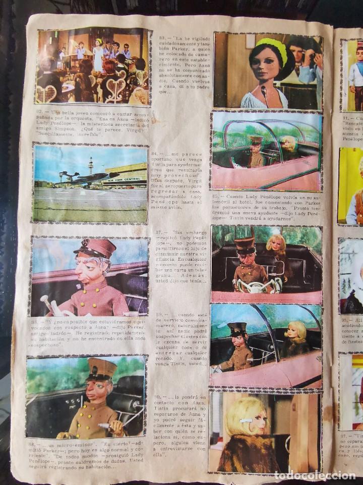 Coleccionismo Álbum: ALBUM CROMOS GUARDIANES DEL ESPACIO DE LA SERIE DE TELEVISION THUNDERBIRDS FHER COMPLETO - Foto 14 - 221799623