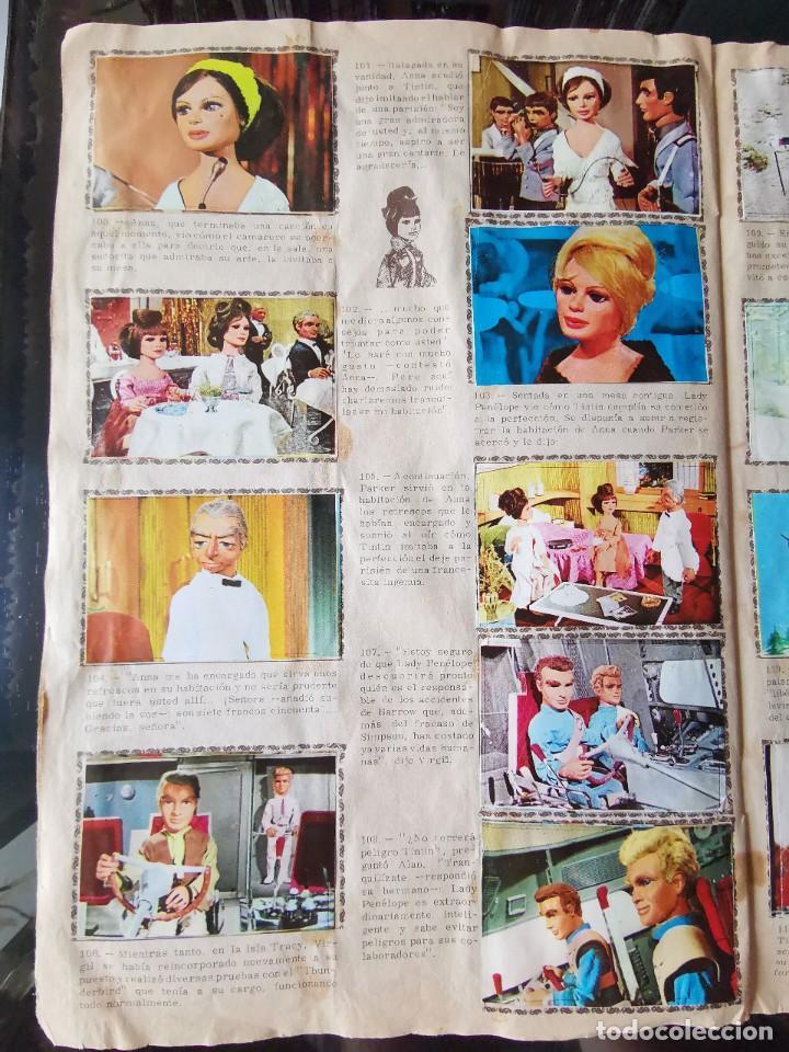 Coleccionismo Álbum: ALBUM CROMOS GUARDIANES DEL ESPACIO DE LA SERIE DE TELEVISION THUNDERBIRDS FHER COMPLETO - Foto 16 - 221799623