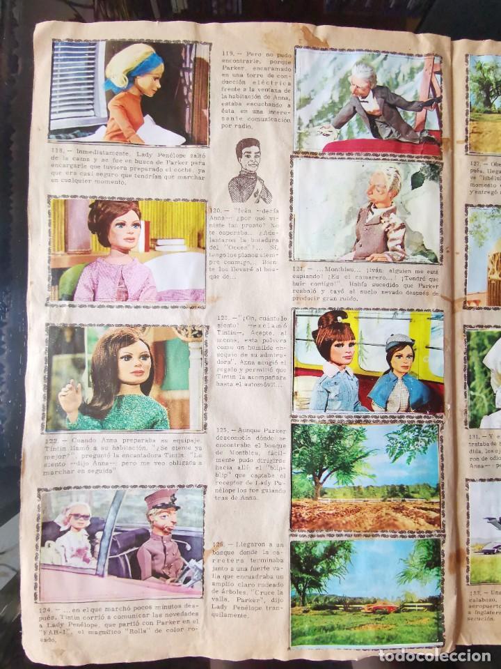 Coleccionismo Álbum: ALBUM CROMOS GUARDIANES DEL ESPACIO DE LA SERIE DE TELEVISION THUNDERBIRDS FHER COMPLETO - Foto 18 - 221799623