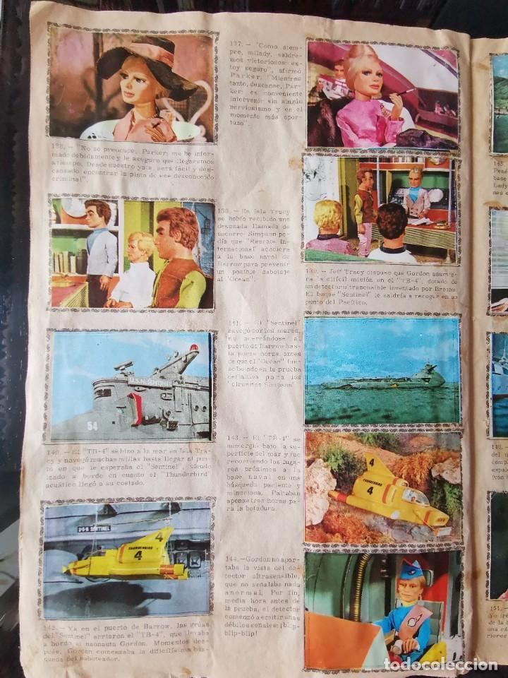 Coleccionismo Álbum: ALBUM CROMOS GUARDIANES DEL ESPACIO DE LA SERIE DE TELEVISION THUNDERBIRDS FHER COMPLETO - Foto 20 - 221799623