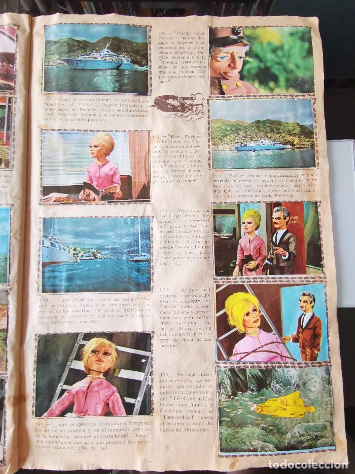 Coleccionismo Álbum: ALBUM CROMOS GUARDIANES DEL ESPACIO DE LA SERIE DE TELEVISION THUNDERBIRDS FHER COMPLETO - Foto 21 - 221799623