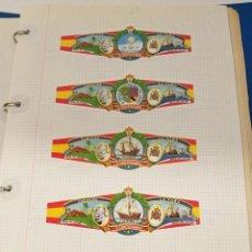 Coleccionismo Álbum: COLECIÓN DE VITOLAS LA FAMA, V CENTENARIO VICENTE Y PINZÓN, PERSONAJES, NEREIDA, BRAKMAN, 644 TOTAL. Lote 221812381