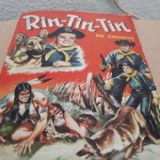 Coleccionismo Álbum: ÁLBUM COMPLETO RIN-TIN-TIN. Lote 222027898
