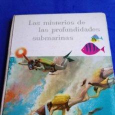 Collezionismo Álbum: ÁLBUM DE CROMOS LOS MISTERIOS DE LAS PROFUNDIDADES DE NESTLE AGOSTO 1959. Lote 222040578