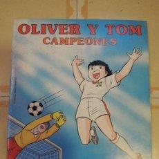 Coleccionismo Álbum: ALBUM DE CROMOS COMPLETO CAMPEONES OLIVER Y TOM - PANINI. Lote 222060011
