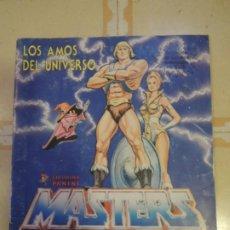 Coleccionismo Álbum: ALBUM DE CROMOS COMPLETO MASTERS DEL UNIVERSO - MATTEL / PANINI - 1983. Lote 222061105