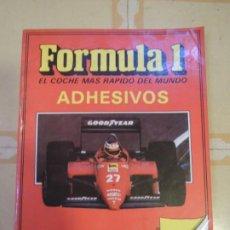 Coleccionismo Álbum: ALBUM DE CROMOS COMPLETO FORMULA 1 - 1987. Lote 222066757