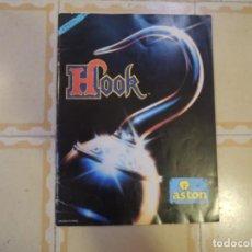 Coleccionismo Álbum: ALBUM DE CROMOS COMPLETO HOOK - EDICIONES ASTON - 1991. Lote 222080656