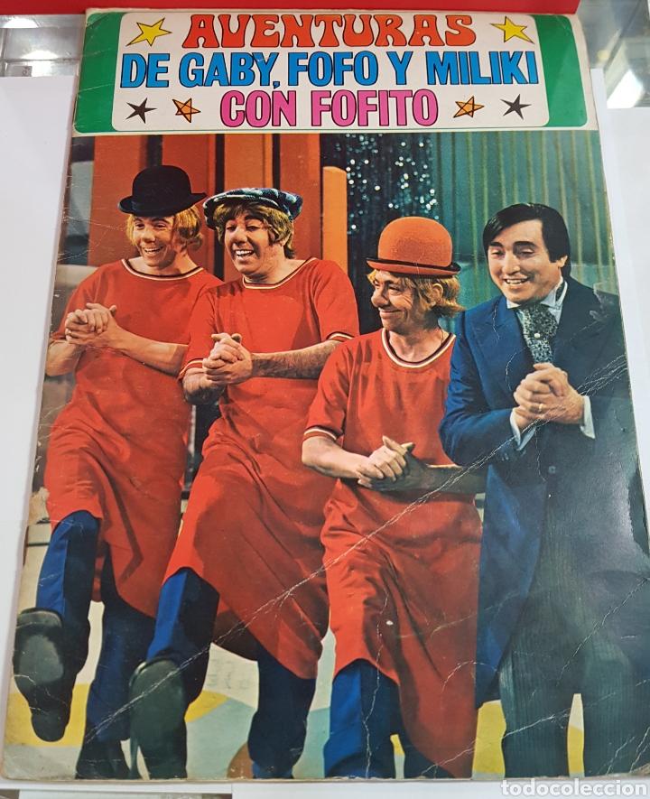 LAS AVENTURAS DE GABY FOFO MILIKI Y FOFITO COMPLETA FHER (Coleccionismo - Cromos y Álbumes - Álbumes Completos)
