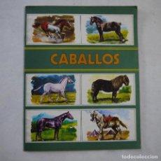 Coleccionismo Álbum: ALBUM CABALLOS COMPLETO. COLECCIÓN ZOO - SUSAETA - 1973. Lote 222109088