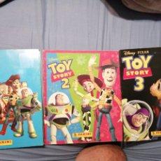 Coleccionismo Álbum: TOY STORY 1 2 Y 3. Lote 222477585