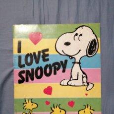 Coleccionismo Álbum: I LOVE SNOOPY COMPLETO. Lote 222479410