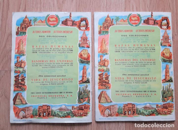 Coleccionismo Álbum: MARAVILLAS DEL MUNDO - I y II COMPLETOS- BRUGUERA 1956 - Foto 2 - 222533211