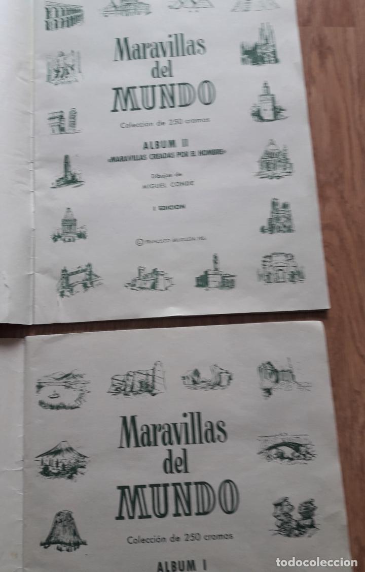 Coleccionismo Álbum: MARAVILLAS DEL MUNDO - I y II COMPLETOS- BRUGUERA 1956 - Foto 7 - 222533211