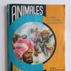 Coleccionismo Álbum: ANIMALES, SU VIDA... FHER 1963- FALTA 1 CROMO. Lote 222540570