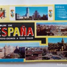 Coleccionismo Álbum: ALBUM DE ESPAÑA EN FOTO-CROMOS.COMPLETO. Lote 222544517