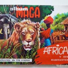Coleccionismo Álbum: AFRICA Y SUS HABITANTES- COMPLETO- . 1965. BUEN ESTADO. Lote 222550755