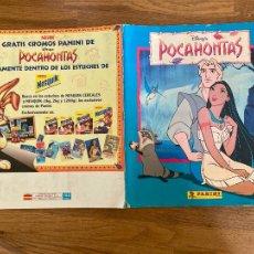Coleccionismo Álbum: ALBUM DE CROMOS COMPLETO - POCAHONTAS - PANINI - GCH1. Lote 222552255
