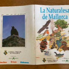 Coleccionismo Álbum: ALBUM DE CROMOS COMPLETO - LA NATURALESA DE MALLORCA - GCH1. Lote 222552941