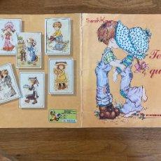 Coleccionismo Álbum: ALBUM DE CROMOS COMPLETO - SARAH KAY / TE QUIERO - FIGURINE PANINI - GCH1. Lote 222553650