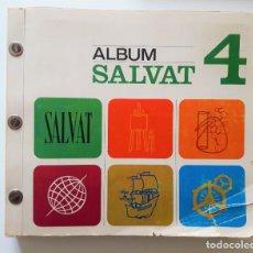 Coleccionismo Álbum: ALBUM CROMOS SALVAT 4 - FALTA 1 CROMO.. Lote 222556816