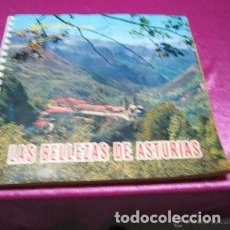 Coleccionismo Álbum: LAS BELLEZAS DE ASTURIAS ALBUM COMPLETO BUEN ESTADO. Lote 222614401