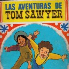 Coleccionismo Álbum: ÁLBUM CROMOS FACSIMIL LAS AVENTURAS DE TOM SAWYER 1980 FHER COMPLETO Y NUEVO. Lote 222945111