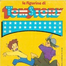 Coleccionismo Álbum: ÁLBUM CROMOS FACSIMIL DE TOM SAWYER ITALIANO COMPLETO Y NUEVO. Lote 222945526