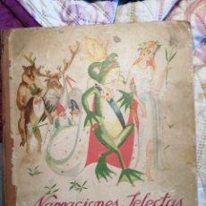 Coleccionismo Álbum: ANTIGUO ALBUM DE CROMOS - NARRACIONES SELECTAS - NESTLE - COMPLETO CON 144 CROMOS- 1933 -. Lote 223063328