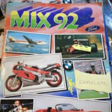 Coleccionismo Álbum: MIX 92 COMPLETO CROMOS AND ROSS. Lote 223074885