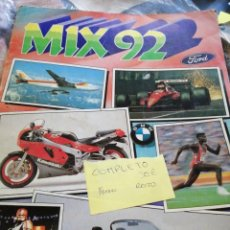 Coleccionismo Álbum: MIX 92 COMPLETO CROMOS AND ROSS. Lote 223076196