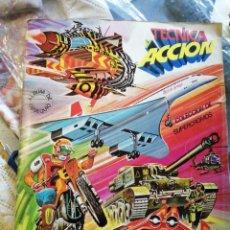 Coleccionismo Álbum: TÉCNICA Y ACCIÓN COMPLETO EDICIONES ESTE. Lote 223076555