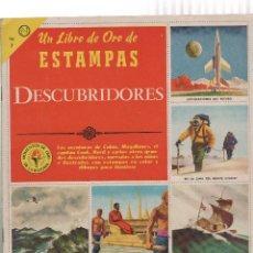Coleccionismo Álbum: ALBUM DE CROMOS- UN LIBRO DE ORO DE ESTAMPAS DESCUBRIDORES-Nº 7. Lote 223493177